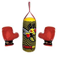 Youth Franklin Sports Stinger Bee Hanging Punching Bag & Glove Set