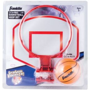 Franklin Sports Go-Pro Basketball Hoop Set