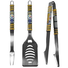 Pittsburgh Steelers 3-Piece Tailgater BBQ Set