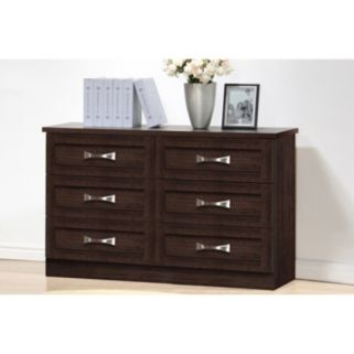 Baxton Studio Colburn 6-Drawer Dresser