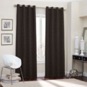 eclipse Thermaback Blackout 1-Panel Webber Window Curtain