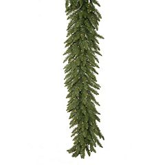 Vickerman 50-ft. Clear Pre-Lit Camden Fir Artificial Christmas Garland