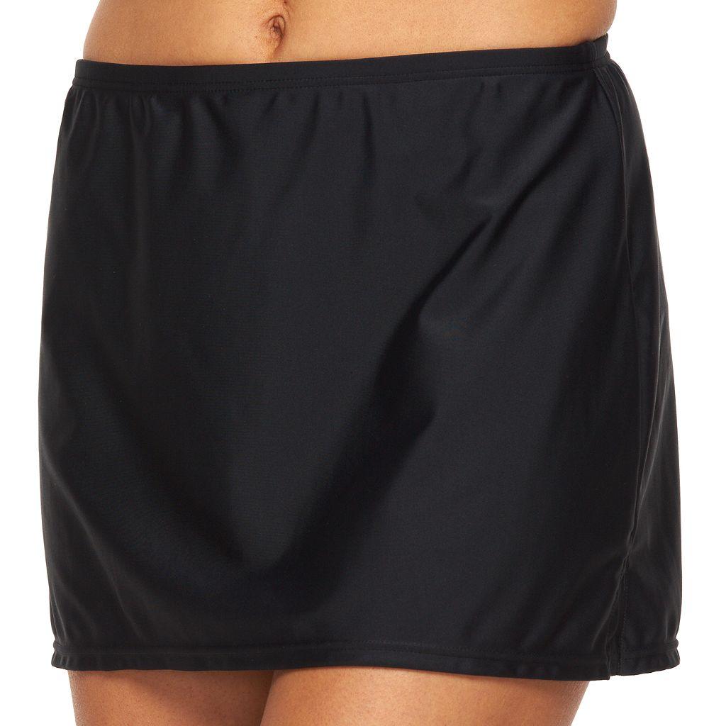 Women's Croft & Barrow® Solid Skirtini Bottoms