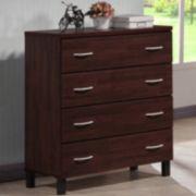 Baxton Studio Maison 4-Drawer Dresser