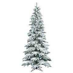Vickerman 6.5-ft. Flocked Slim Utica Fir Artificial Christmas Tree