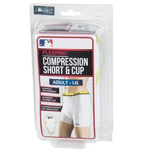 Adult Franklin Sports Flexpro Compression Short & Cup Set