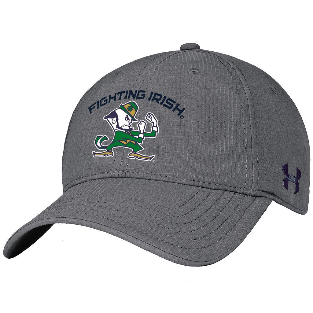 Adult Under Armour Notre Dame Fighting Irish Renegade Stretch-Fit Cap