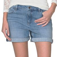 Petite Chaps Jean Shorts