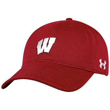 Women's Under Armour Wisconsin Badgers Relaxed Adjustable Cap