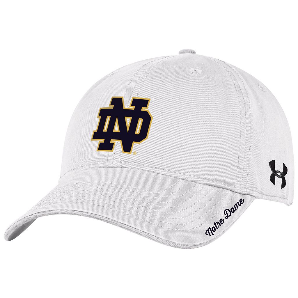 Women's Under Armour Notre Dame Fighting Irish Relaxed Adjustable Cap