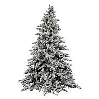 Vickerman 7.5-ft. Flocked Utica Artificial Christmas Tree