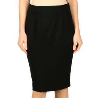 Women's Larry Levine Solid Pencil Skirt