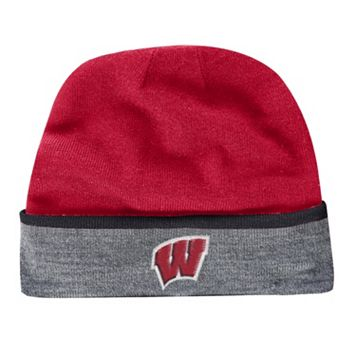Adult Under Armour Wisconsin Badgers Cuffed Knit Beanie