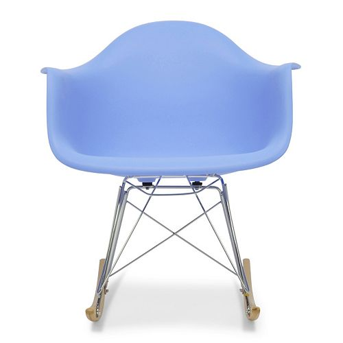 Strange Baxton Studio Dario Mid Century Modern Rocking Chair Forskolin Free Trial Chair Design Images Forskolin Free Trialorg