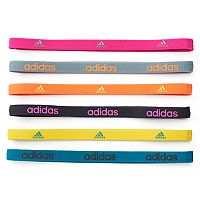 Women's adidas Fighter 6-pk. Solid Headband Set