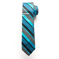 Men's Apt. 9 Skinny Tie with Tie Bar