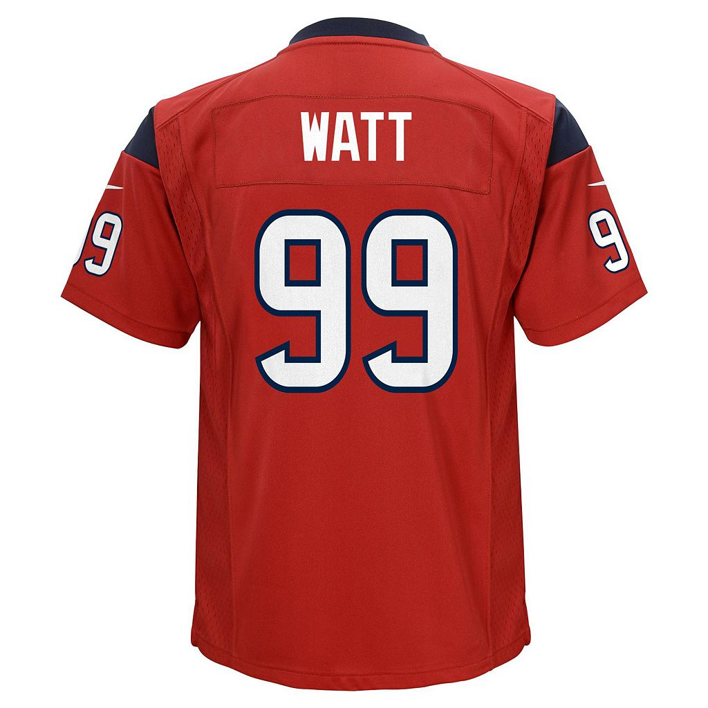 Boys 8-20 Nike Houston Texans JJ Watt Game NFL Replica Jersey