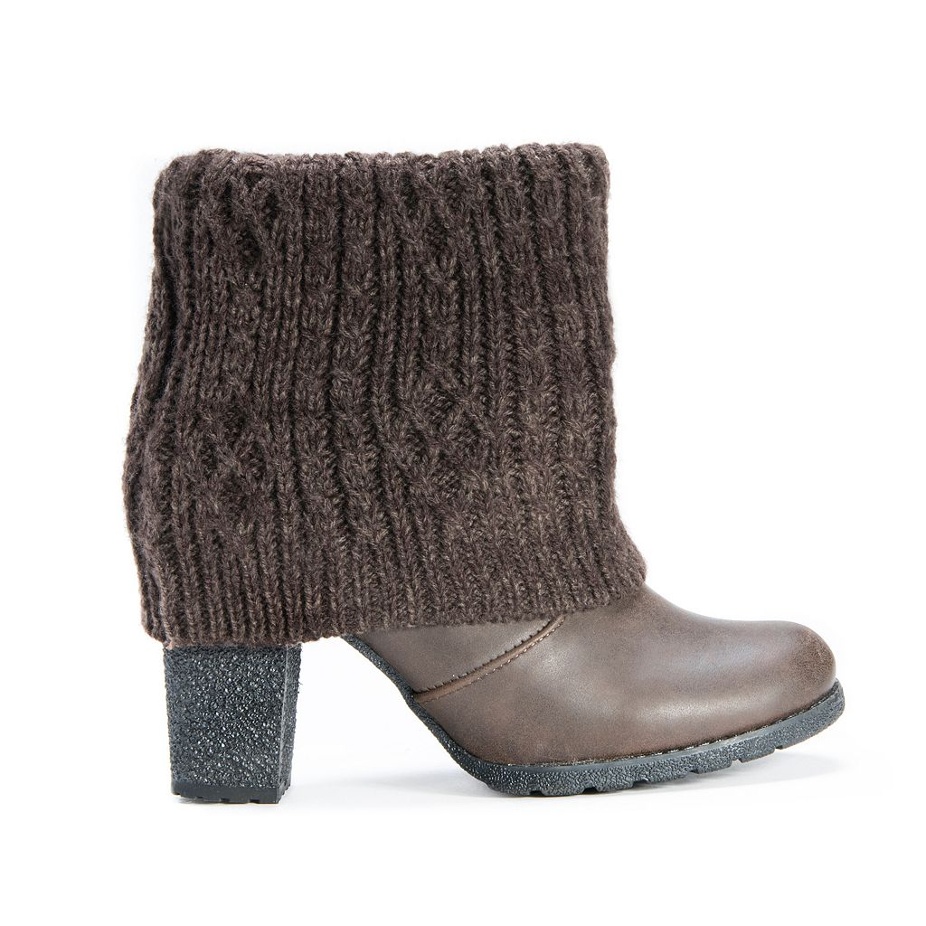 MUK LUKS Chris Women's Water-Resistant Ankle Boots