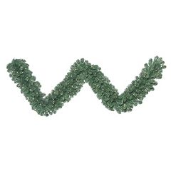 Vickerman 9-ft. Clear Pre-Lit Oregon Fir Artificial Christmas Garland