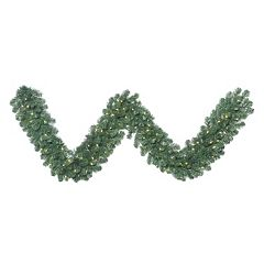 Vickerman 9-ft. Warm White Pre-Lit Oregon Fir Artificial Christmas Garland