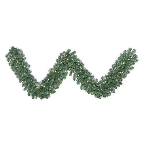 Vickerman 9-ft. Warm White Pre-Lit Oregon Fir Artificial Christmas Garland