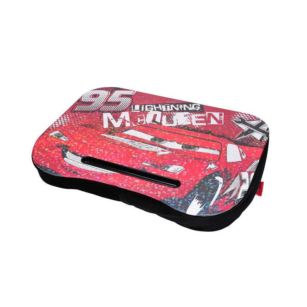 Disney / Pixar Cars Lightning McQueen Plush Lap Desk