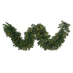 Vickerman 9-ft. x 24' Pre-Lit LED Grand Teton Artificial Christmas Garland
