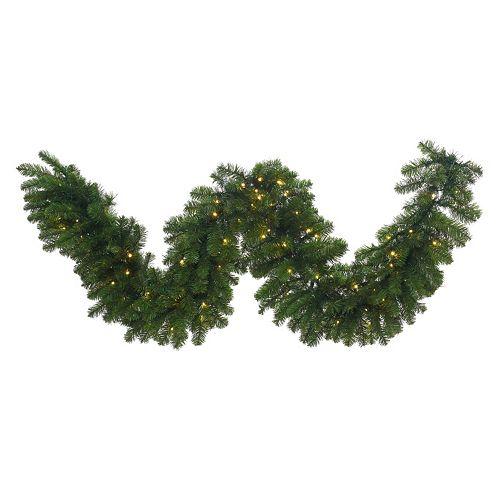 "Vickerman 9-ft. x 24"" Pre-Lit LED Grand Teton Artificial Christmas Garland"