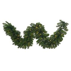 Vickerman 25-ft. x 24' Pre-Lit Grand Teton Artificial Christmas Garland