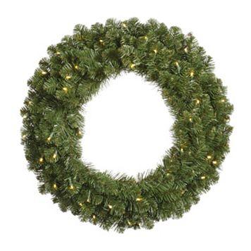 Vickerman 60-in. Pre-Lit Grand Teton Artificial Christmas Wreath