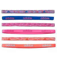Women's adidas Fighter 6-pk. Whimsy & Solid Headband Set