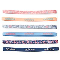 Women's adidas Fighter 6-pk. Floral & Solid Headband Set