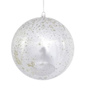 Vickerman Shiny Mercury Glass Ball Christmas Ornament 4-piece Set