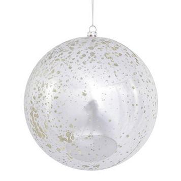 Vickerman Shiny Mercury Glass Ball Christmas Ornament 4-piece Set
