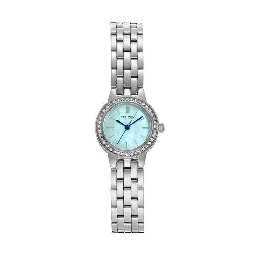 Citizen Women's Crystal Stainless Steel Watch - EJ6100-51N