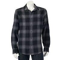 Men's Urban Pipeline® Plaid Flannel Button-Down Shirt