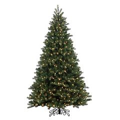 Vickerman 7.5-ft. Pre-Lit Noble Spruce Instant Shape Artificial Christmas Tree