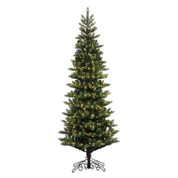 Vickerman 7.5-ft. Noble Spruce Pre-Lit Instant Shape Artificial Christmas Tree