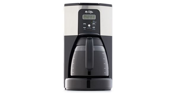 Mr Coffee Espresso Maker Kohls : Mr. Coffee Design To Shine 12-Cup Programmable Coffee Maker
