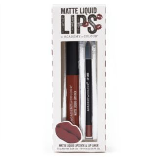 Academy of Colour 2-pc. Matte Liquid Lips