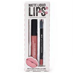 Academy of Colour 2 pc Matte Liquid Lips