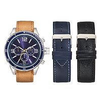 Men's Watch & Interchangeable Band Set