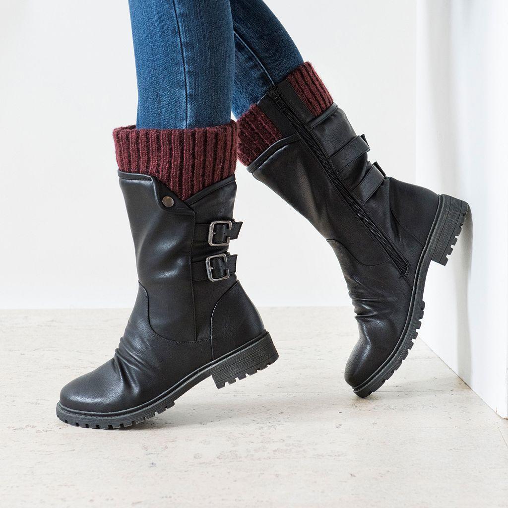 MUK LUKS Macy Women's Water-Resistant Boots