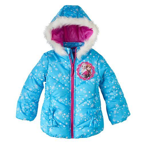 b547c43f8f9b Disney's Frozen Anna & Elsa Toddler Girl Snowflake Heavyweight ...