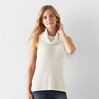 Women's SONOMA Goods for Life™ Sleeveless Cowlneck Tunic