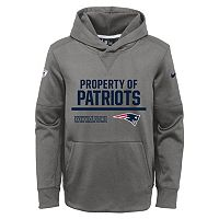 Boys 8-20 Nike New England Patriots Circuit Therma-FIT Hoodie