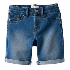 Girls 4-12 SONOMA Goods for Life™ Bermuda Jean Shorts