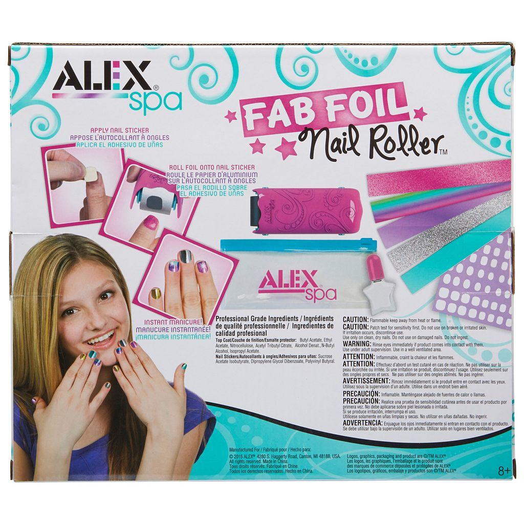 ALEX Spa Fab Foil Nail Roller