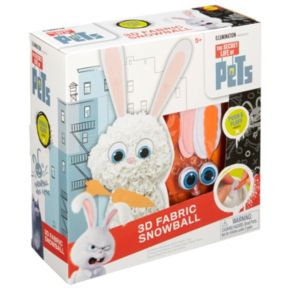 ALEX Toys The Secret Life of Pets 3D Fabric Snowball