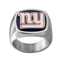 Men's Stainless Steel New York Giants Ring
